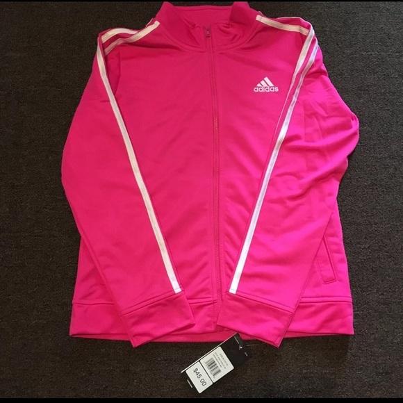 buy popular d80f9 a02b8 adidas Other - Girls tricot adidas jacket
